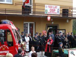 Jubileusz 100 lat OSP w Marcyporębie